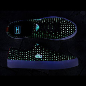 LACOSTE X ATMOS // GLOW IN THE DARK SNEAKERS