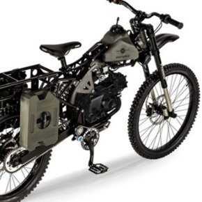 THE MOTOPED // SURVIVAL BIKE
