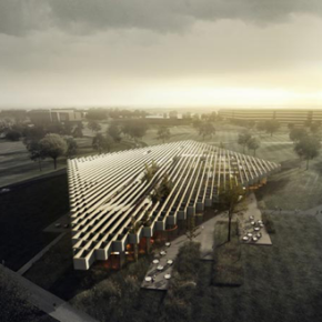 "COBE WINS ADIDAS COMPETITION // ""RHOMBUS-SHAPED"" FLAGSHIP BUILDING"