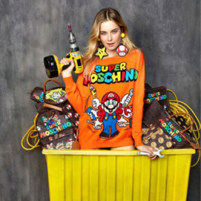 """JEREMY SCOTT X MARIO AND CO. FOR """"SUPER MOSCHINO"""""""