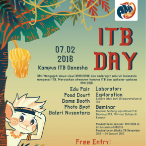 INSTITUT TEKNOLOGI BANDUNG// DAY FOR A BRIGHTER FUTURE