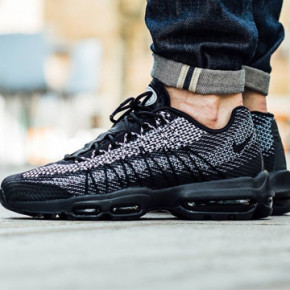 "NIKE AIR MAX 95 JCRD IN ""BLACK AND SAIL"""