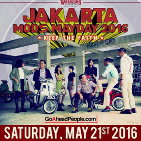 JAKARTA MODS MAYDAY 2016 // KEEP THE FAITH
