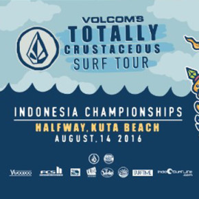 VOLCOM'S TOTALLY CRUSTACEOUS TOUR 2016 // FINALS WILL WRAP UP AT KUTA BEACH