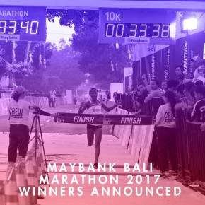 MAYBANK BALI MARATHON 2017 WINNERS ANNOUNCED