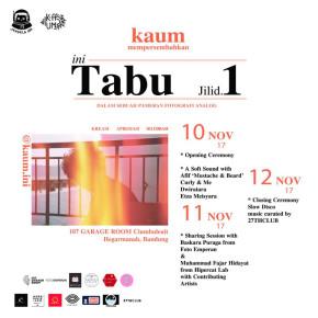 THE TABU VOLUME 1 BY KAUM
