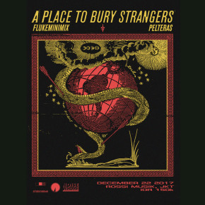 A PLACE TO BURRY STRANGERS LIVE IN JAKARTA