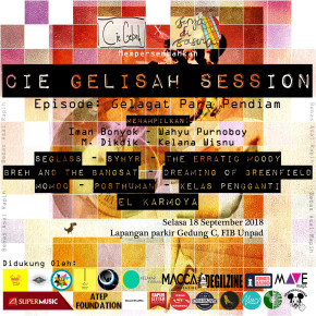 CIE GELISAH SESSION // GELAGAT PARA PENDIAM