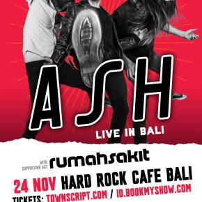 ASH AKAN TAMPIL DI HARD ROCK CAFE BALI