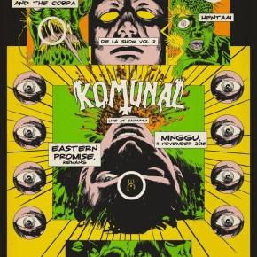 DE LA SHOW VOL. II // KOMUNAL LIVE IN JAKARTA