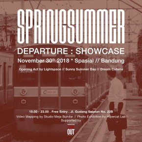 """SPRING SUMMER // """"DEPARTURE"""" SHOWCASE"""