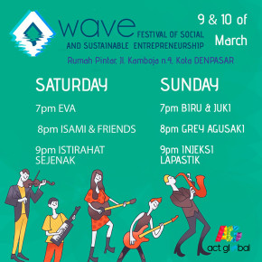 WAVE // FESTIVAL OF SOCIAL & SUSTAINABLE ENTREPENEURSHIP