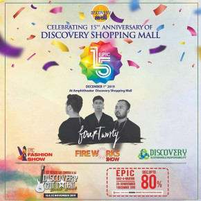 "DISCOVERY SHOPPING MALL // RAYAKAN ""EPIC 15TH ANNIVERSARY"""