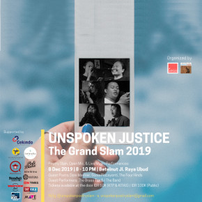 THE GRAND SLAM 2019: UNSPOKEN JUSTICE SIAP DIGELAR