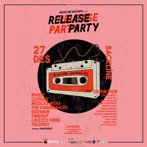 "BACKLINE // SEGERA GELAR ""BACKLINE MIXTAPE VOL.1 RELEASE PARTY"""