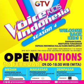 THE VOICE KIDS INDONESIA // BUKA PENDAFTARAN UNTUK SEASON KE - 4