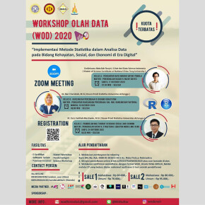 KEMBANGKAN PENGOLAHAN DATA DI ERA DIGITAL, LEWAT WORKSHOP OLAH DATA (WOD) 2020