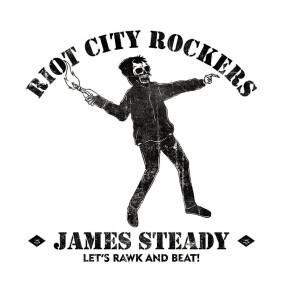 "JAMESSTEADY // MINI ALBUM ""RIOT CITY ROCKERS"