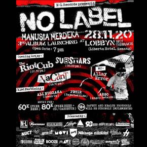 "NO LABEL // LEPAS ALBUM ""MANUSIA MERDEKA"""