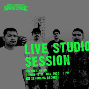 "SCARHEAD BARRICADE // MELEPAS ""LIVE STUDIO SESSION"""