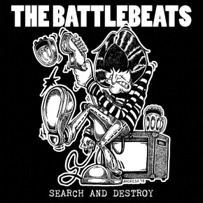 """THE BATTLEBEATS // ALBUM """"SEARCH AND DESTROY"""""""