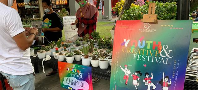 MAL BALI GALERIA // TUTUP BULAN OKTOBER DI ACARA YOUTH & CREATIVE FESTIVAL