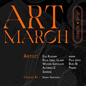 ART MARCH // PAMERAN SENI RUPA SURABAYA