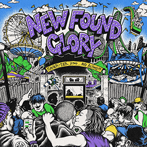 """NEW FOUND GLORY // MERILIS ALBUM """"FOREVER AND EVER X INFINITY…AND BEYOND!!!"""""""